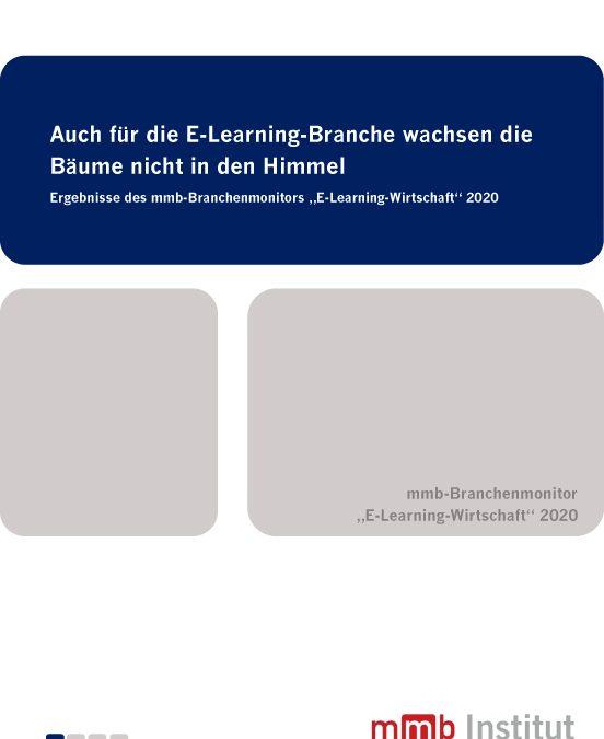 Auch für die E-Learning-Branche wachsen die Bäume nicht in den Himmel