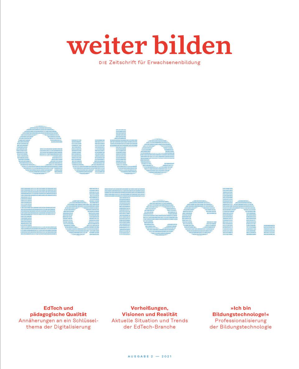 """EdTech-Fachbeitrag von mmb in der aktuellen Ausgabe der Zeitschrift """"weiter bilden"""""""