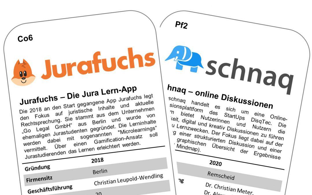 EdTech-Quartett: Jurafuchs & schnaq