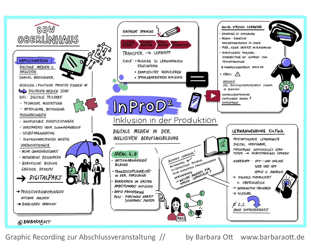 """mmb schließt Förderprojekt """"InProD2 – Inklusion in der Produktion"""" erfolgreich ab"""