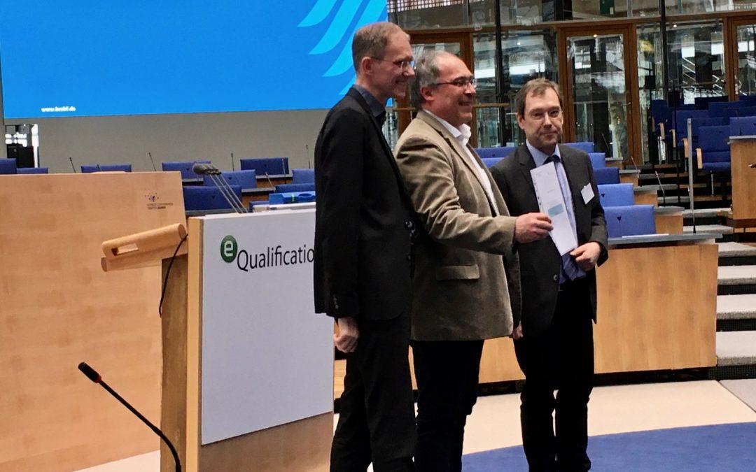 SVL2020 gewinnt Jurypreis auf der eQualification