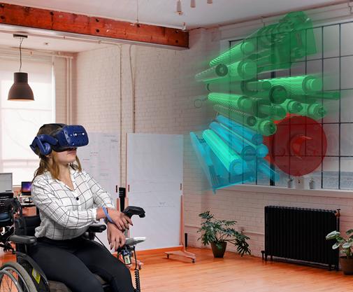 Wie wirkt Virtual Reality Learning aus der Rollstuhlperspektive?